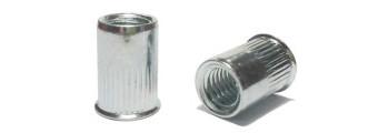 Nýtovací matice ocel rýhovaná s malou hlavou Nr.157